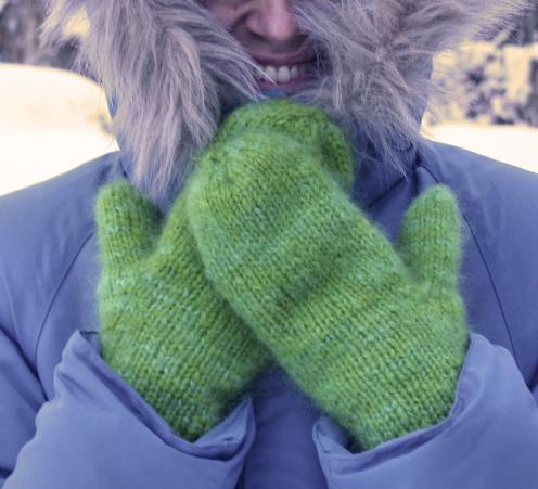 Fleece Artist Soft Mitts