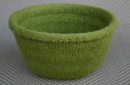 Green One Skein Bowl