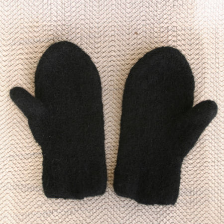 Black Snow Country Mitts