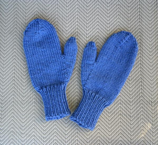 Blue Mittens
