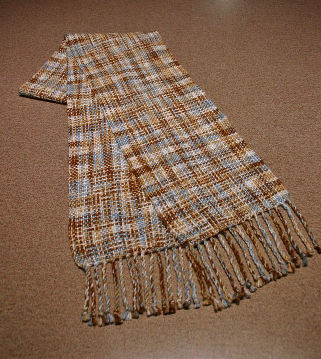 Woven scarf