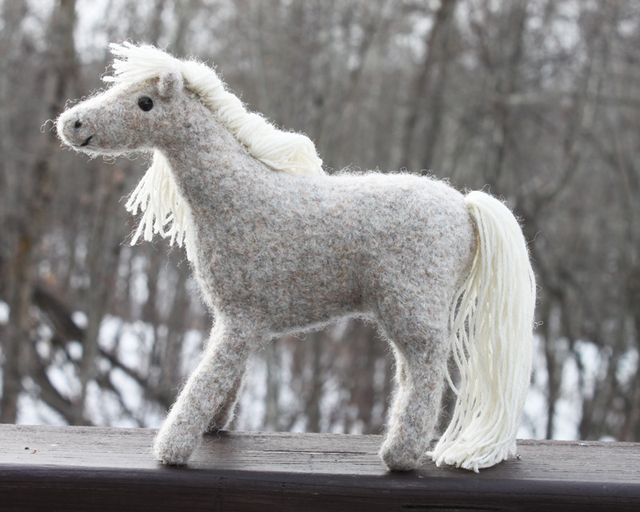 Little Felted Horse
