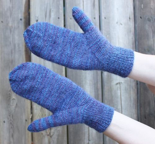Indian Thumb Mittens