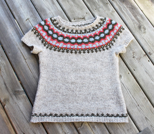 Icelandic Vest with added sleeves